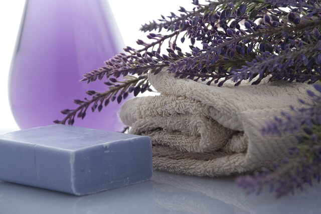 lavender shower