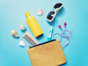 beauty travel kit