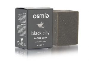 Osmia Black Clay Facial Soap