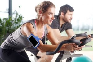 Build Muscle For A Woman With spin bike